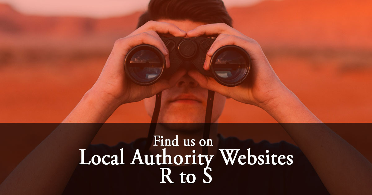 Local Authority Listings: R to S