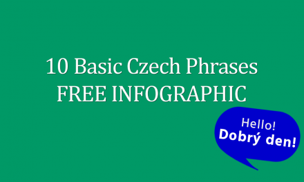 10 Basic Czech Phrases FREE Infographic