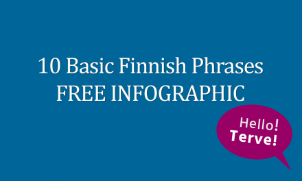 10 Basic Finnish Phrases FREE Infographic