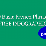 10 Basic French Phrases FREE Infographic