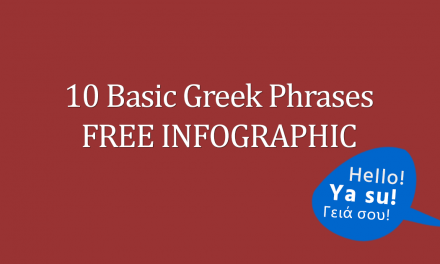 10 Basic Greek Phrases FREE Infographic