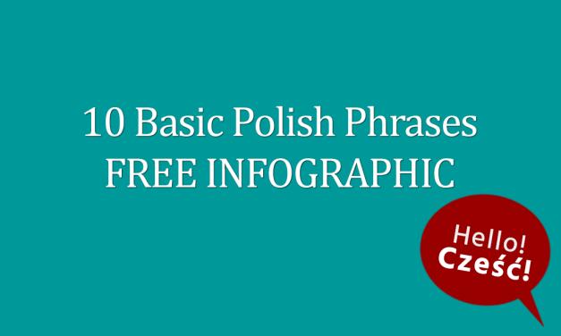 10 Basic Polish Phrases FREE Infographic