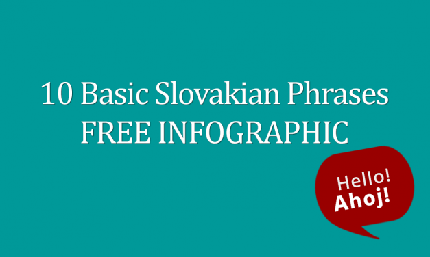 10 Basic Slovakian Phrases FREE Infographic