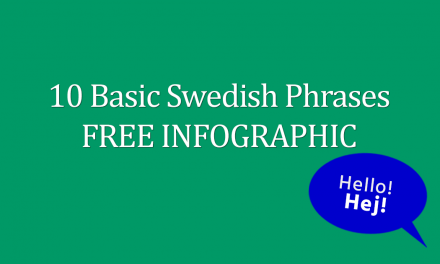 10 Basic Swedish Phrases FREE Infographic
