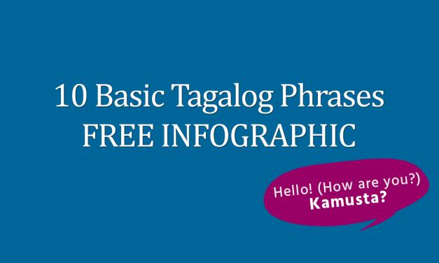 10 Basic Tagalog Phrases FREE Infographic