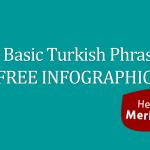 10 Basic Turkish Phrases FREE Infographic